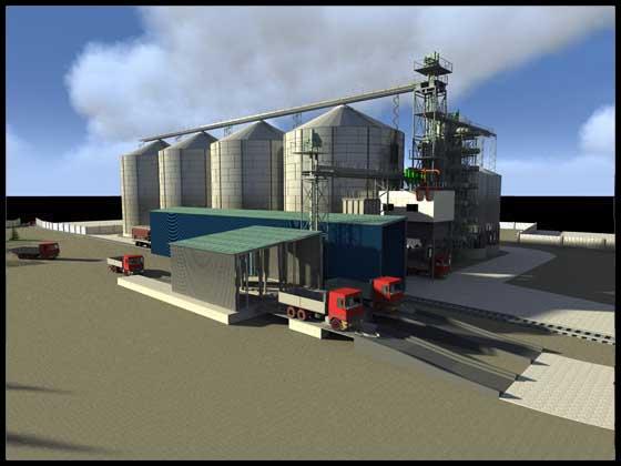 Передпроектна пропозиція  елеваторного комплексу міскістю 30 тис. тон
