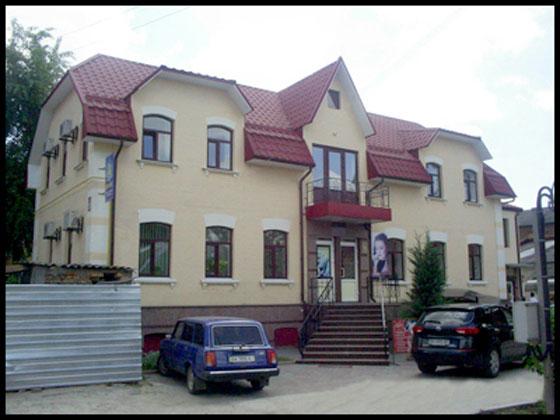 Реконструкція житлового будинку під адміністративно-побутовий комплекс по вул. Шевченка в м. Кіровограді