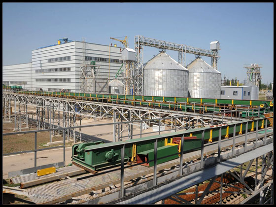 Завод по глибокій переробці сої потужністю 240 тонн/добу у смт Нове м.Кіровоград
