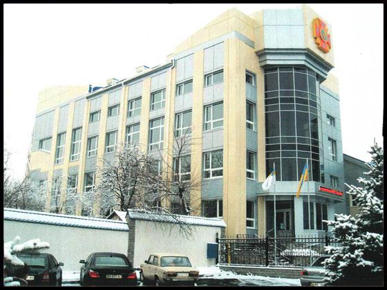 Адмінбудинок ГУ МНС по вул. Пашутинській,1 у м. Кіровограді
