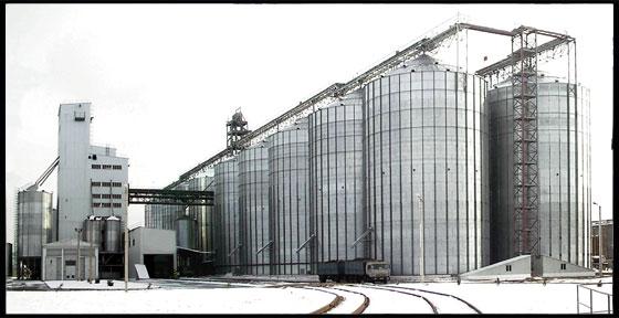 Склади для зберігання насіння соняшника місткістю 100 тис. тонн по вул. Мурманській у м.Кіровограді