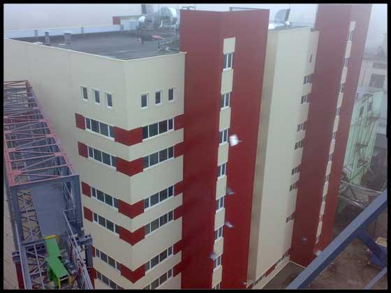 Олієекстракційний завод у м. Полтаві.Обрушувально-віяльний та  олієпресовий цех потужністю 1300 тон/добу